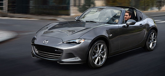 Ny MX-5 model med foldetag