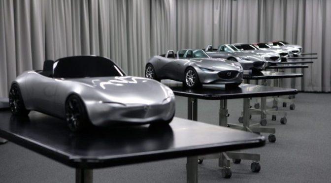Mazda afslører designprocessen bag MX-5 ND modellen